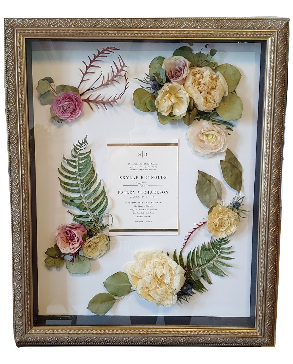 Wedding Flower Preservation By Leigh Florist A South Jersey Wedding Florist