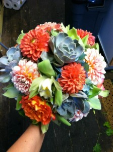 Dahlia Bouquet, Wedding Bouquet, Bridesmaid Bouquet, Wedding Flowers, NJ Wedding Flowers, Philadelphia Wedding Flowers, South Jersey Wedding Flowers