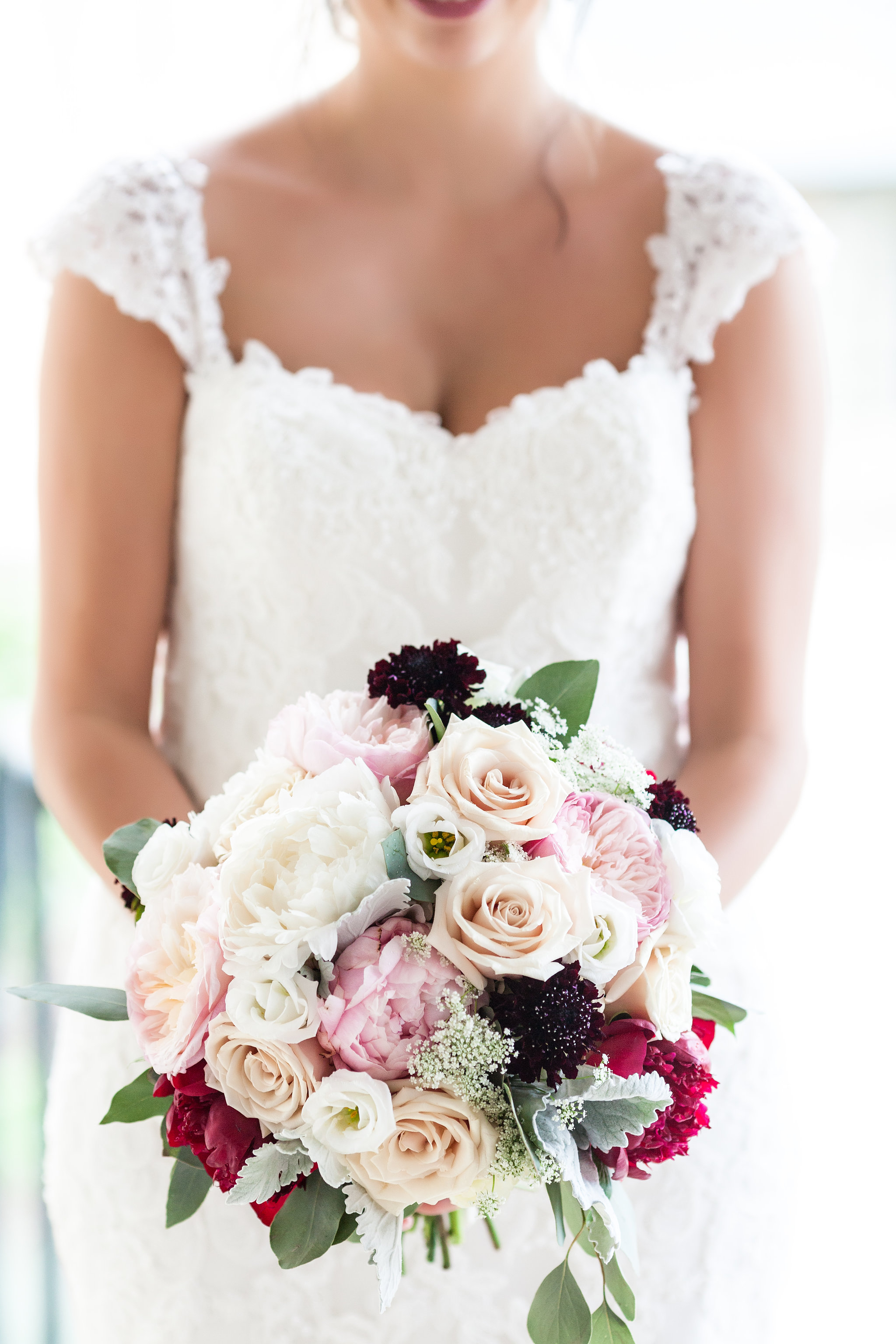 Classically Blush Wedding flowers