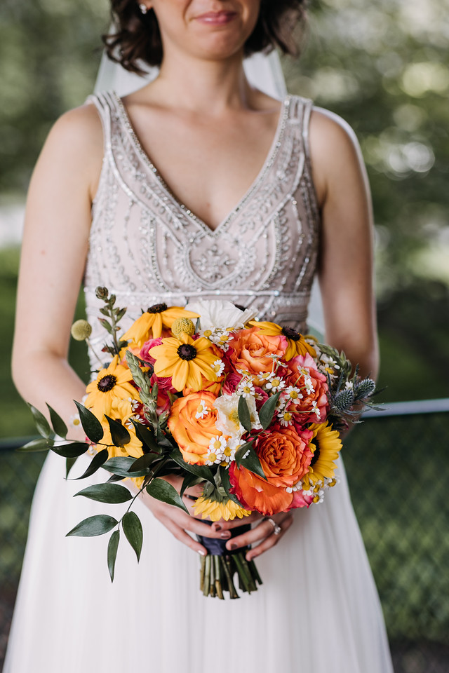 Classically Colorful Wedding